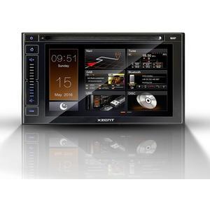 """XZENT X-402 - 2-Din Naviceiver mit DAB+, USB, BT und HDMI - """" ohne Kartenmaterial """""""