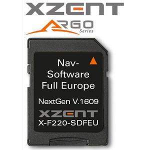 XZENT X-F220 MH microSD-card iGO NextGen FEU Caravan