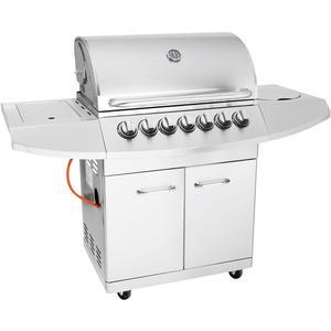 Allgrill ALLROUNDER IV inkl. Steakzone & Seitenkocher (Volledelstahl)