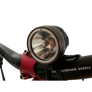 Power Outdoor LED Fahrrad Licht 1000 Bike Helm Lampe inkl. Akku