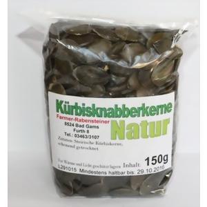 Kürbisknabberkerne Natur - Farmer-Rabensteiner's Kürbiskerne