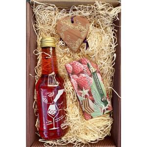 """Geschenkkarton """"Süße Grüße"""" - zum Valentinstag, Geburtstag, Ostern, Muttertag"""