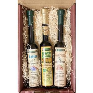 Geschenkkarton Ölvariation - Geburtstag, Muttertag, Vatertag