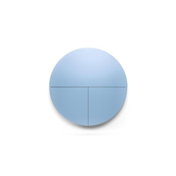 """EMKO """"Multifunctional Pill"""" - Wandschrank rund weiss/blau"""
