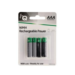 NiMH-Akku AAA 1.2 V 950 mAh 4-Blister