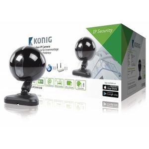 IP-Kamera für Innenmontage, schwarz