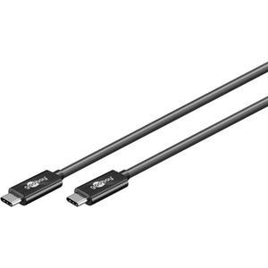 USB-C™ Kabel USB 3.1 Generation 2, 3A, schwarz USB-C™-Stecker > USB-C™-Stecker