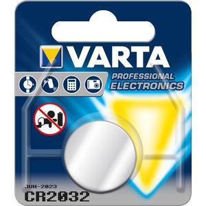 Varta Knopfzelle CR2032 (6032) - Lithium Batterie, 3 V 230 mAh