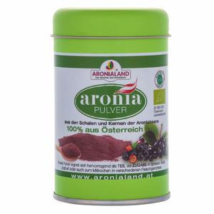 Aronia Bio Pulver 90g in der Dose online kaufen