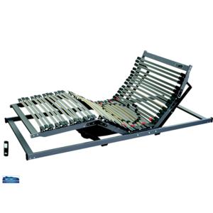 HOTELWERKSTATT MEDItre EH12 Buchen-Lattenrost Elektrisch Kabellos Fernbedienung Inklusive Synchronfunktion 100x200x8 cm