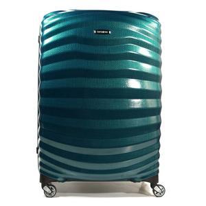 Samsonite 62765-1686 Lite-Shock Spinner 69cm Petrol Blau Trolley 73L