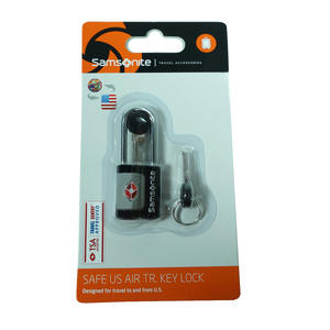 Samsonite 62131-1041 Safe Us Air Travel Key Lock Schwarz TSA Schloss