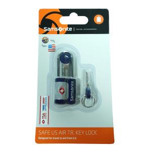 Samsonite 62131-1439 Safe Us Air Travel Key Lock Blau TSA Schloss