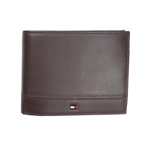 Tommy Hilfiger Herren Geldbörse TH Essential CC Flap Leder Braun