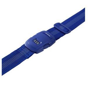 Samsonite 61610-1439 Save 3Combi Strap Blau Koffergurt Zahlenschloss