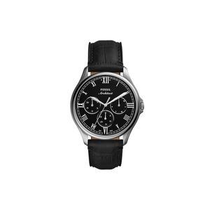 Fossil FS5802 ARC - 02 Chronograph Uhr Herrenuhr Leder Datum schwarz