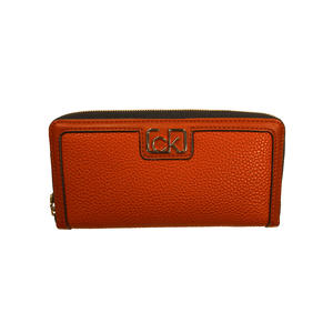 Calvin Klein Damen Geldbörse Zip Wallet L Braun K60K607170-GC9
