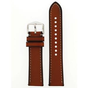 Fossil Uhrenarmband LB-FS5414 Ersatzband FS5414 Leder 22 mm Braun