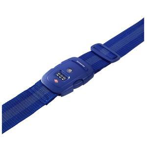 Samsonite 61595-1439 Save US 3Combi Strap Blau Koffergurt TSA Schloss