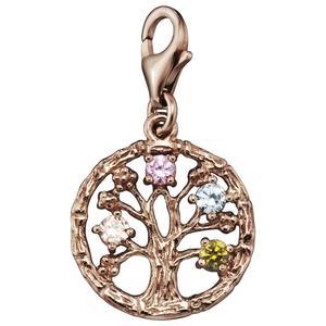 Julie Julsen® JJCH9280.9 Damen Charms Lebensbaum rosé