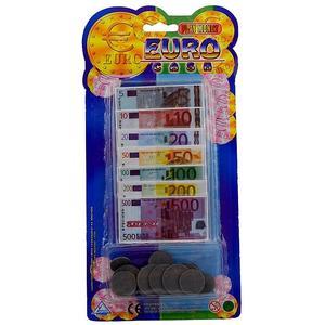 Euro Spielgeld mit Münzen 5336A