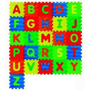 Puzzle Spielmatte Abc 26tlg 1002