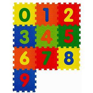 Puzzle Spielmatte Zahlen 10tlg 1001