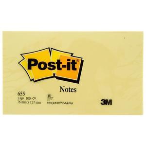 POST-IT BLANKO 655 127X76
