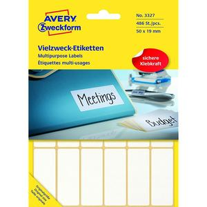 AVERY ZWECKFORM 3327 Etiketten WEISS