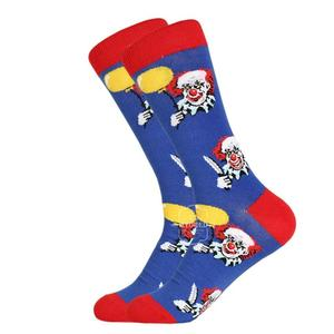 "Socken ""Clown"", medium cut, crewe"