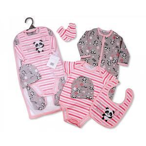 Geschenkset Baby Panda Mädchen (5-teilig)