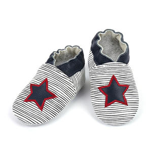 Baby Lauflernschuhe Stern-Rot