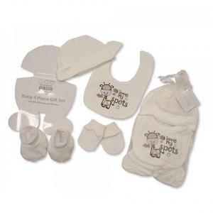Geschenkset Baby Unisex (4-teilig)