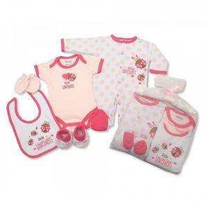 Geschenkset Baby Girl (6-teilig)