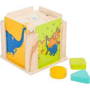Die Maus Steckwürfel mit dem Elefanten