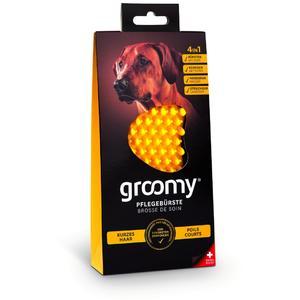 Groomy Pflegebürste Hund Kurzhaar