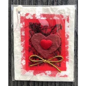 Geschenkanhänger rote Herzen