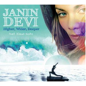 CD - Janin Devi - Higher Wilder Deeper