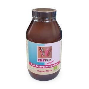 Kakao vegan - BIO Trinkcremepulver - Eryfly mit Erythrit