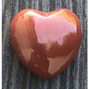Roter Jaspis Herzanhänger 2 cm - Heilsteine