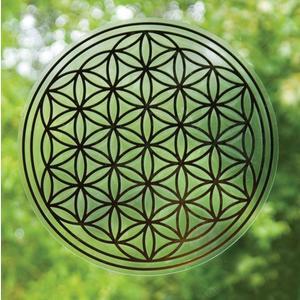 Blume des Lebens Sticker 28 cm