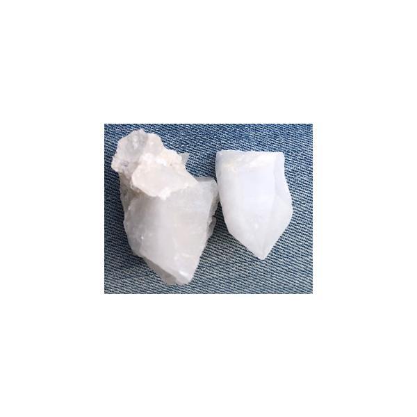 Bergkristall Rohstein - Heilsteine - Trommelstein