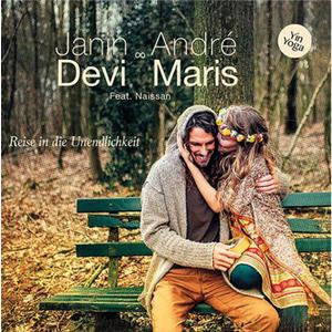 CD - Janin Devi & Andre Maris - Yin Mantra Yoga - Reise in die Unendlichkeit