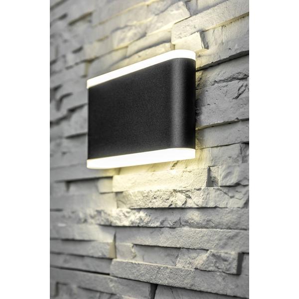 Moderne LED Wandleuchte Valla 8 Watt