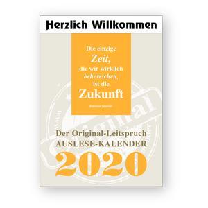 Auslese Kalender 2020
