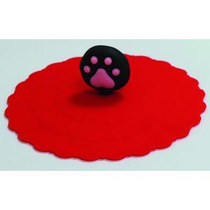 Silikondeckel für Dosen bis 10cm Durchmesser Rot