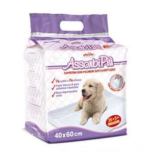 40 Stk. Trainingsunterlage für Hunde 60 x 40 cm mit Klebepads