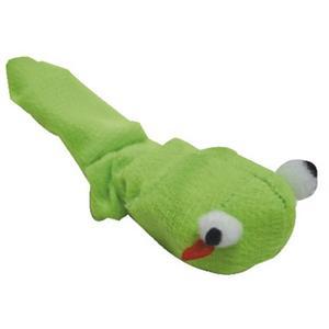 Katzenspielzeug Vibrierende Schlange Grün 13 cm