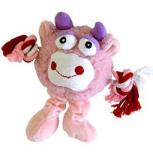 Hundespielzeug Monster Frieds Rosa 21cm