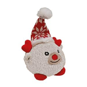 Christmas Toy TPR Ball mit Plüsch Renntier